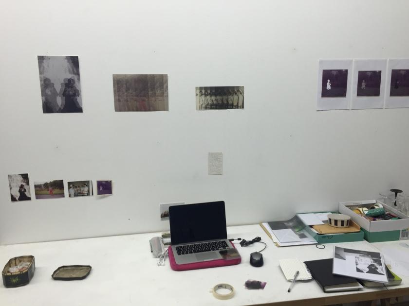 Werkplek atelier