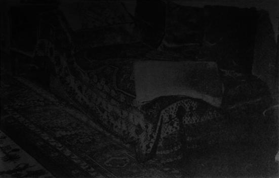 Willem Oorebeek, seance blackout London III, 2012, litograph